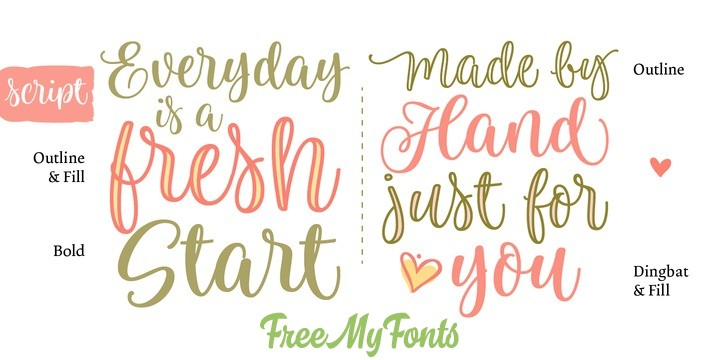 Limon Font Family - FreeMyFonts